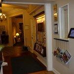 Hallway to Lounge Area