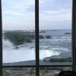 View from the rooms on the Falls side