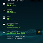 Blazing fast internet speed