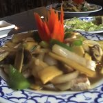 Bamboo Shoots with beef