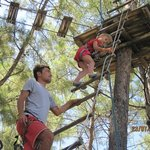 high ropes at hotel