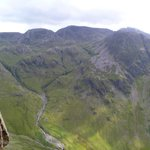 The Scafells - as seen from Napes Needle