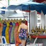 You can dress up in a traditional Thai costume - against payment, of course
