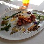 autour du. homard un delice