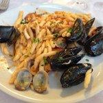 Troffie al sapore di mare