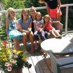 Erin Kate Caro and kids