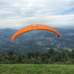 The view from the top - paragliding