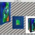Murano Glass Safe -Ammolite Design 2009
