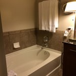 Bathroom 2-- awesome tub!