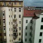 Ausblick von unserm Zimmer im 6. Stock