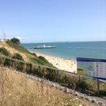 cliff walk looking toward Bournemouth Pier