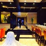 Bariloche hotel lobby