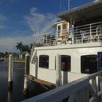The boat, Lady Chadwick