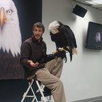 Presentation at Raptor Center