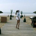 Выход к морю, пляж