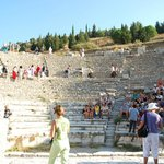 The smaller of two Ephesus theaters.
