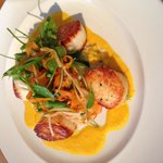 Scallops with Mango