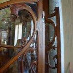 detail dans la salle Art Nouveau