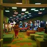 espaço de games para as crianças