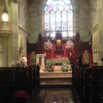 St. Mary's Church at the end of the Street. Lovely. Where JFK & Jackie were married.