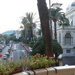 Вид с балкона на казино