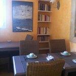 La sala per la colazione