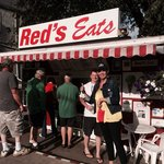 Our friends enjoyed Red's as much as we do.