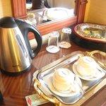 Complimentary Room Amenities (coffee & tea)