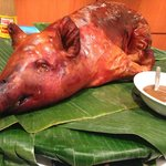 They do Whole roast pigs for events and parties. Yummmmmyy