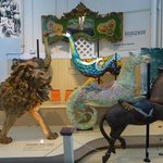 Assorted carousel figures
