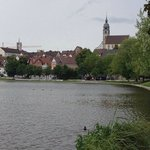 The town lake