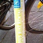 Typical Radius Rental Bike