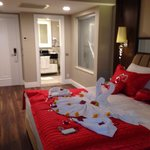 Our room for honeymoon