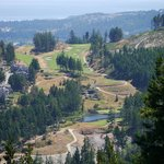 Bear Mtn Golf Course from Mt Finlayson summit