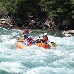August 7th 2014 - Rafting the Lardeau in BC.