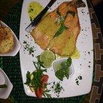 salmon trout plate