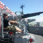 Moveable guns