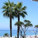 View from C'est La Vie in Laguna upstairs