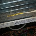 Was told this A/C had recently been cleaned! I would disagree!