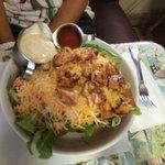 Salade chicken taco.