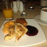 Desayuno delicioso..
