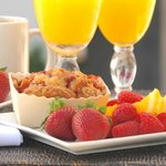 Start your day with a complimentary breakfast.