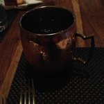 Delicious Moscow Mule Served In Copper Mug