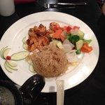 Children's habachi shrimp