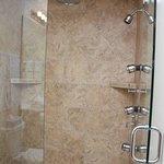 Kohler Rain Showers in select rooms!