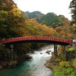 Enjoying the 'Koyo' festival in Nikko ����