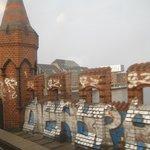 Grafitti on the bridge