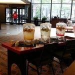 Lobby Area Had This Water Daily....So Refreshing