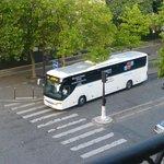 エールフランスバス停は目の前
