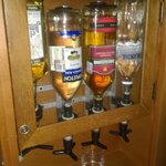 liqueur dispenser in your room